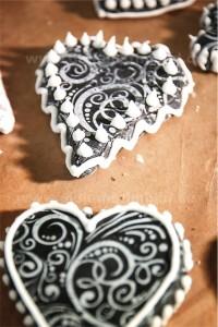 glasur auf einem Keks