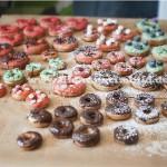 dekorierte Donuts